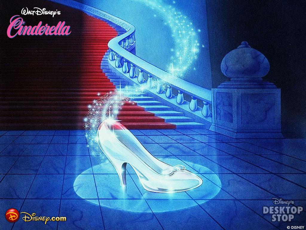 My Tadika: Disney Cinderella Wallpaper