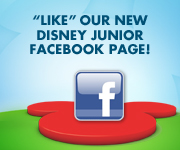 """Like"" our new Disney Junior Facebook page!"