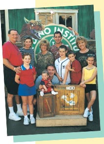 The Calkins Family at DISNEY'S ANIMAL KINGDOM Theme Park - Members since 2001
